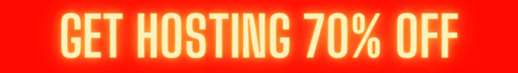 get hosting 70% off