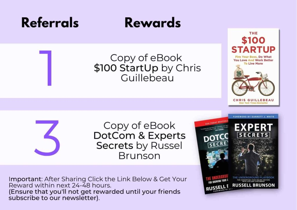 my business route referral gifts